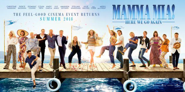 Mamma Mia 2 Brighouse Cinema